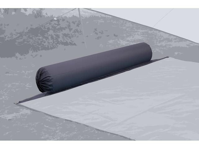 Bent XL Lounger Plain Almohada, gris